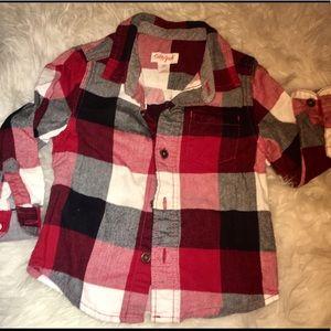 Cat & Jack Flannel Shirt